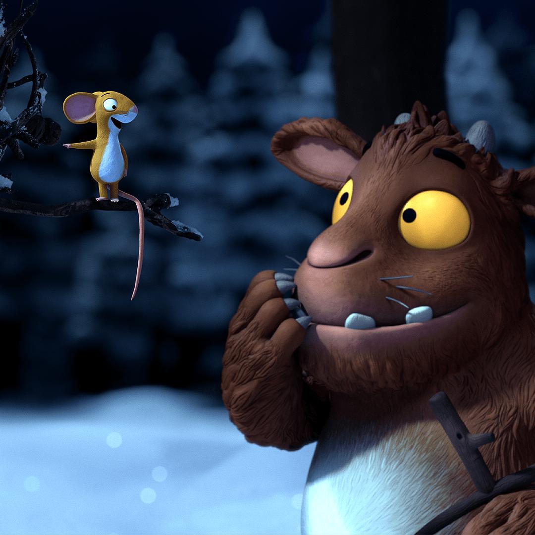 Der Grüffelo und die Maus