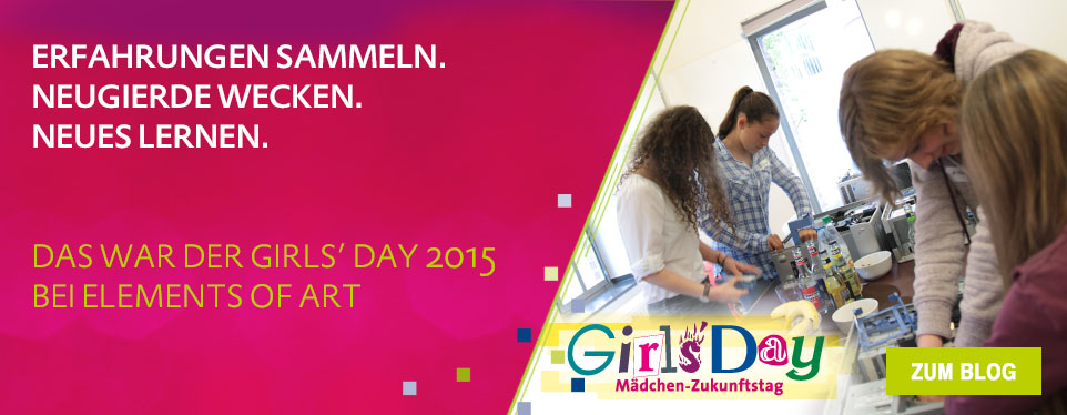 Das war der Girls' Day 2015 bei EoA