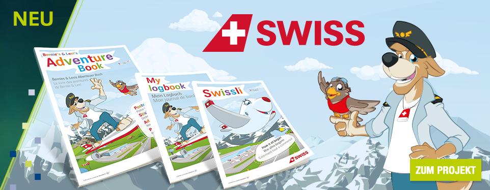 Umfangreiches Kinderprogramm für SWISS