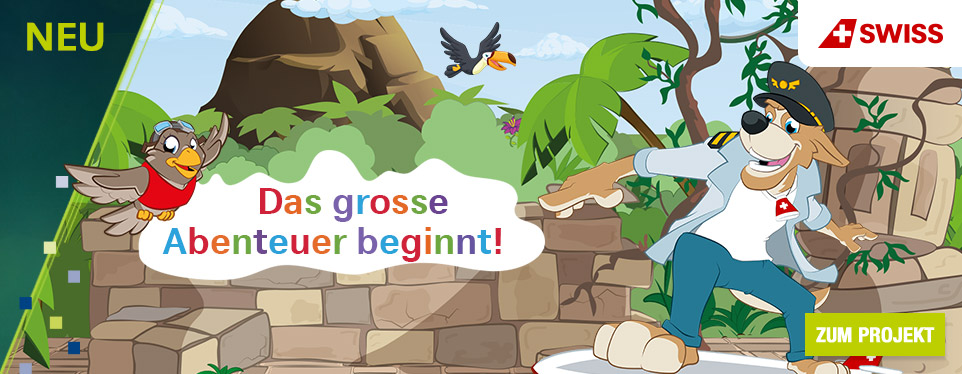 SWISS Abenteuer-Kampagne