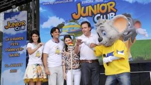 40 Jahre Europa-Park: Anlässlich des 40. Geburtstages des Freizeitparks wurde der von EoA kreierte Europa-Park JUNIOR CLUB eröffnet. Quelle: europapark.de