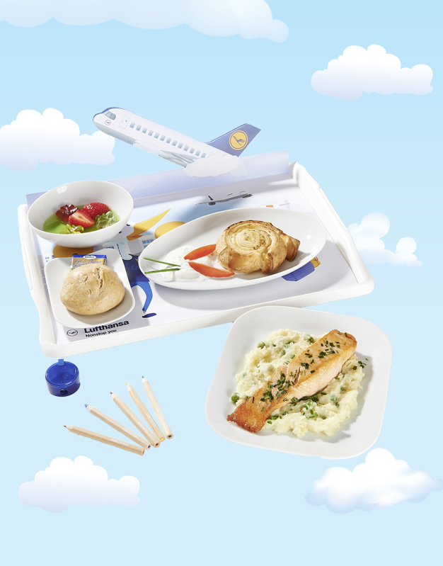 Das Lufthansa Kindermenü