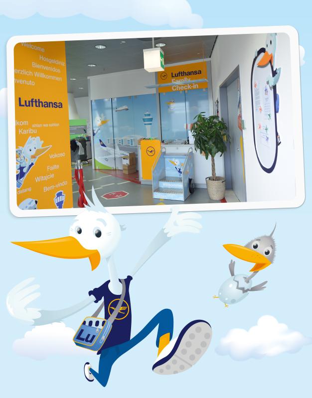 Das Lufthansa Kinderland