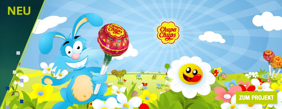 Herrlich-wuselnder Osterspaß für Chupa Chups