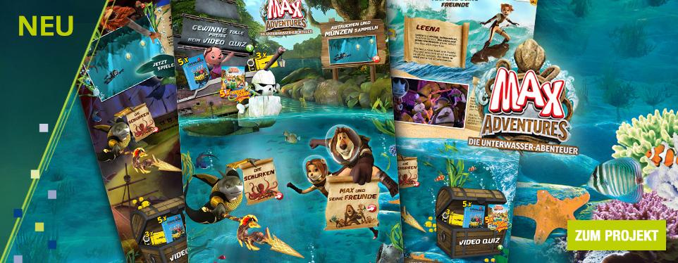 Max Adventures: Spannende Unterwasser-Abenteuer auf toggo.de
