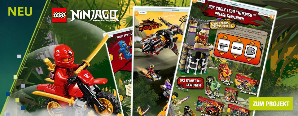 Auf ins Abenteuer: Spannender Spielspaß mit LEGO® Ninjago