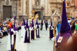 Spanien: Prozession während der <em>Semana Santa</em>