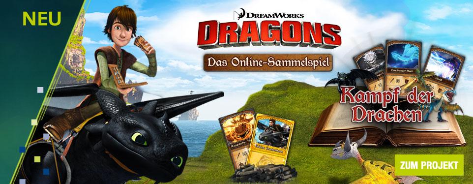 Die Drachen sind los: Online-Sammelspaß mit den Dragons auf toggo.de