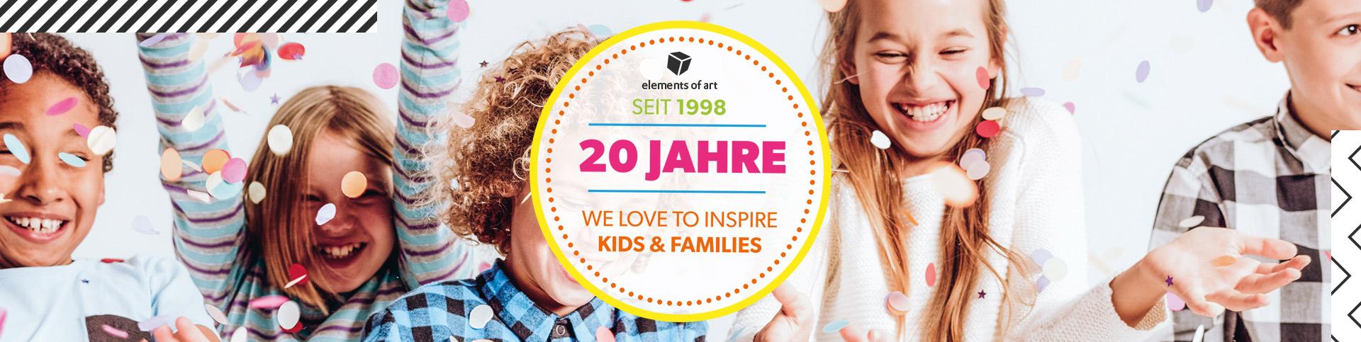 20 Jahre Kinder- und Familienkommunikation mit EoA