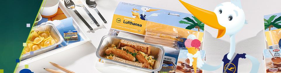 Elements of Art Lufthansa Kindermenü