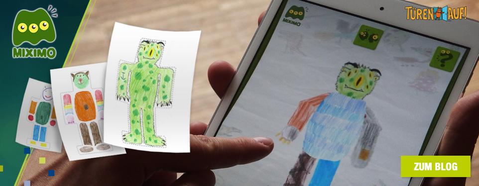 Kinder-App MIXIMO: Der Türöffner-Tag für kreative Entdecker bei EoA