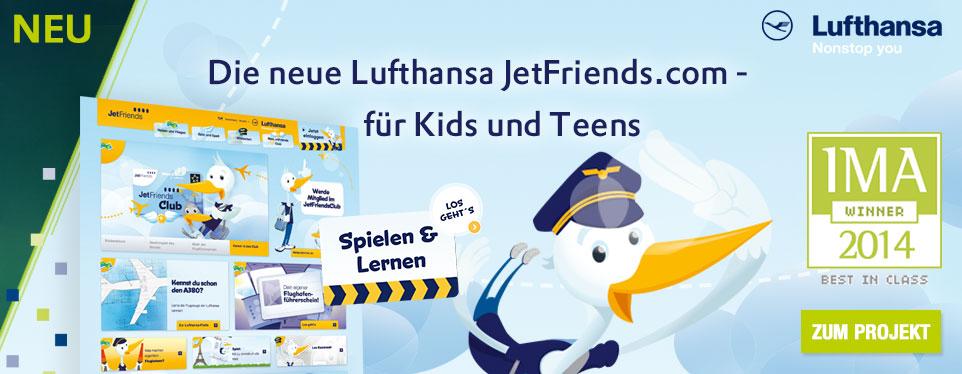 NEU! JetFriends - Der Club für Kids und Teens, die sich für die Welt der Luftfahrt interessieren