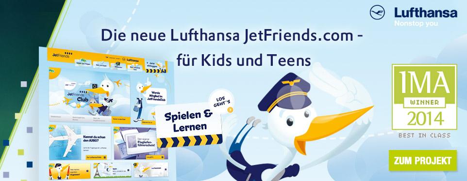 JetFriends - Der Club für Kids und Teens, die sich für die Welt der Luftfahrt interessieren
