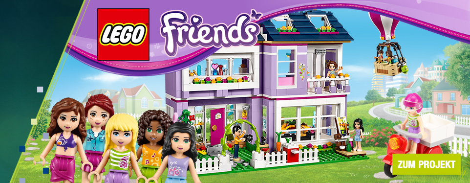 Großer Spiel- und Rätselspaß mit den  LEGO® Friends