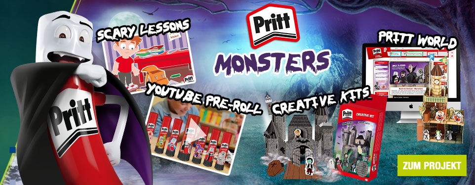 Back to School: ohne Angst in die Schule mit Mr. Pritt!
