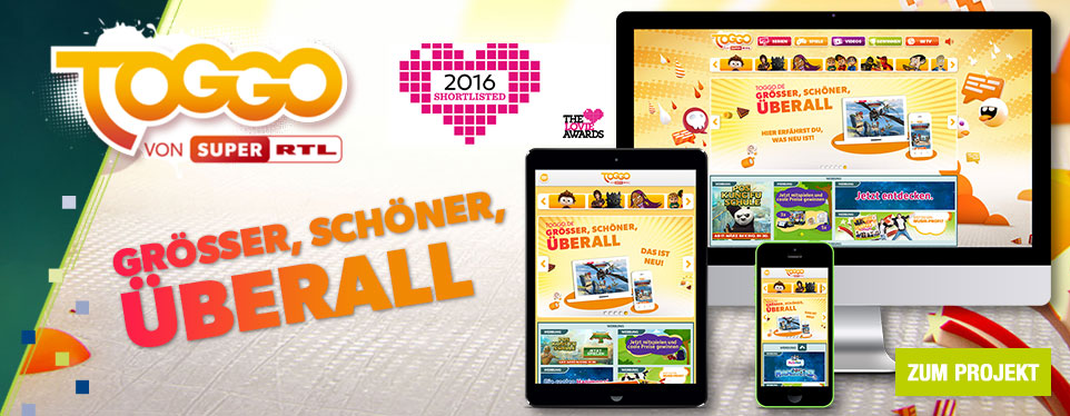 Relaunch der größten deutschen Kinderwebsite