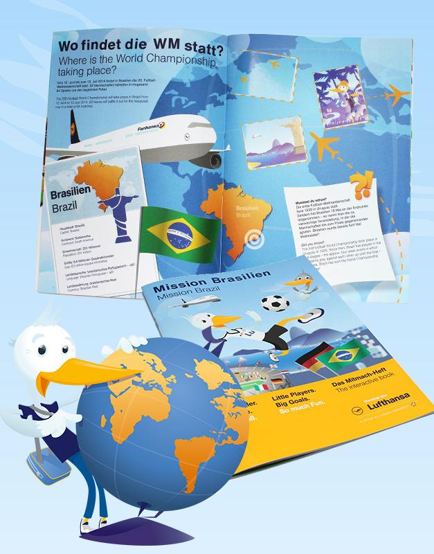 Das JetFriends WM Stickeralbum