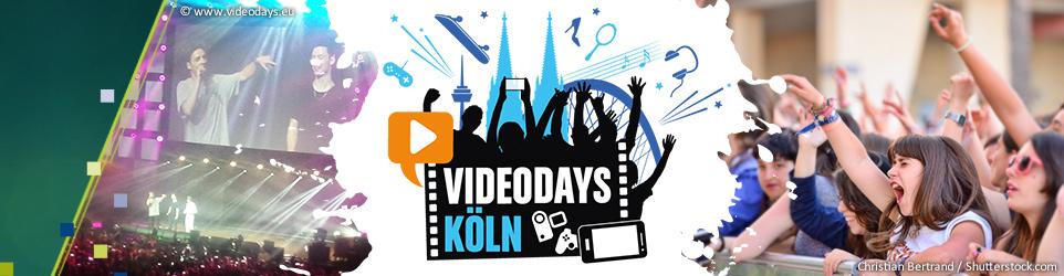 VideoDays 2016 - YouTube Stars zum Anfassen