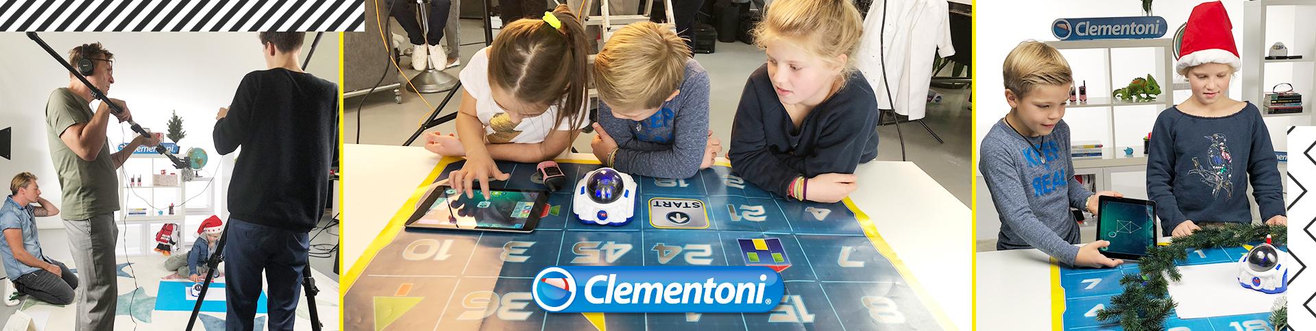eoa hat mit Kinder-Models ein Fotoshooting für Clementoni gemacht