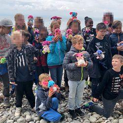 Kinder bei einer Segelfreizeit des Vereins Leuchtende Augen e. V., die von NICI unterstützt wird